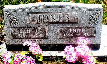 JONES, EDITH - Carroll County, Arkansas | EDITH JONES - Arkansas Gravestone Photos