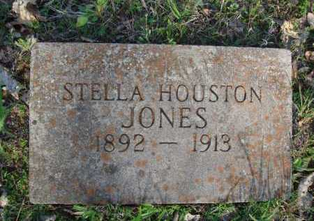 HOUSTON JONES, STELLA - Carroll County, Arkansas | STELLA HOUSTON JONES - Arkansas Gravestone Photos