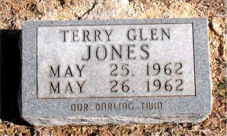 JONES, TERRY GLEN - Carroll County, Arkansas | TERRY GLEN JONES - Arkansas Gravestone Photos