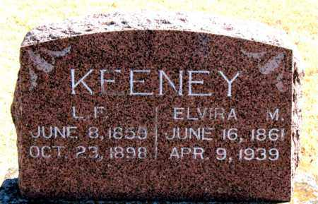 KEENEY, ELVIRA  M. - Carroll County, Arkansas | ELVIRA  M. KEENEY - Arkansas Gravestone Photos