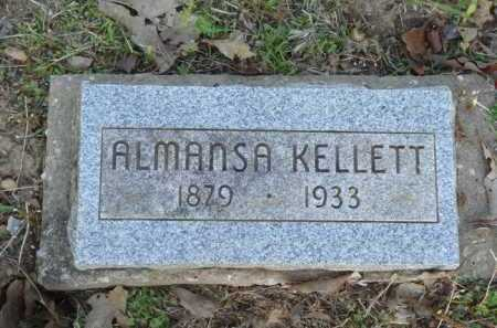 KELLETT, ALMANSA - Carroll County, Arkansas | ALMANSA KELLETT - Arkansas Gravestone Photos
