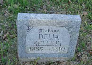 KELLETT, DELIA - Carroll County, Arkansas | DELIA KELLETT - Arkansas Gravestone Photos