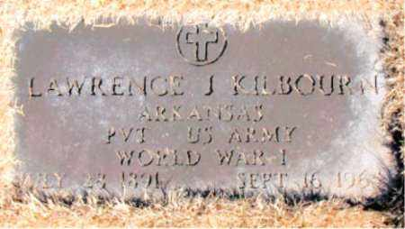 KILBOURN  (VETERAN WWI), LAWRENCE  J - Carroll County, Arkansas | LAWRENCE  J KILBOURN  (VETERAN WWI) - Arkansas Gravestone Photos