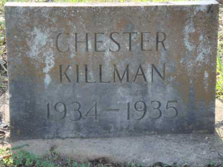 KILLMAN, CHESTER - Carroll County, Arkansas | CHESTER KILLMAN - Arkansas Gravestone Photos