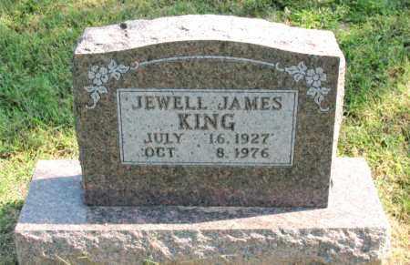 JAMES KING, JEWELL - Carroll County, Arkansas | JEWELL JAMES KING - Arkansas Gravestone Photos