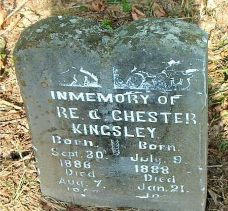 KINGSLEY, CHESTER - Carroll County, Arkansas | CHESTER KINGSLEY - Arkansas Gravestone Photos