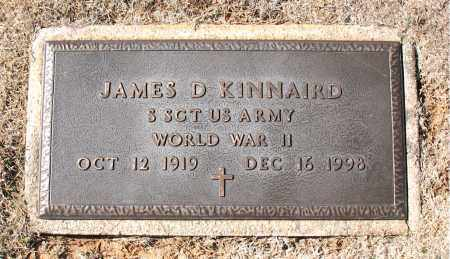 KINNAIRD (VETERAN WWII), JAMES  D - Carroll County, Arkansas | JAMES  D KINNAIRD (VETERAN WWII) - Arkansas Gravestone Photos