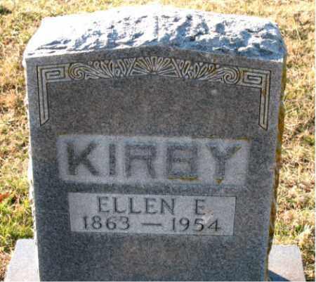 KIRBY, ELLEN  E. - Carroll County, Arkansas   ELLEN  E. KIRBY - Arkansas Gravestone Photos