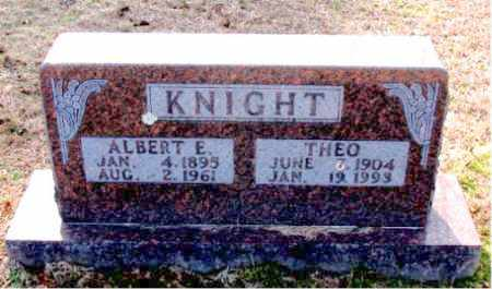 KNIGHT, THEO - Carroll County, Arkansas | THEO KNIGHT - Arkansas Gravestone Photos