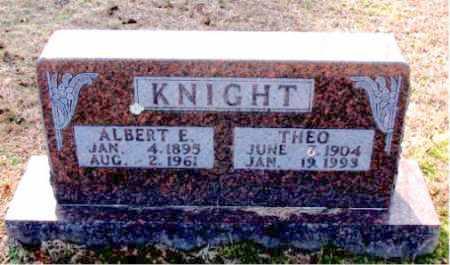 KNIGHT, ALBERT E - Carroll County, Arkansas | ALBERT E KNIGHT - Arkansas Gravestone Photos