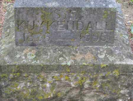KUYKENDALL (VETERAN CSA), SPEAR FORT - Carroll County, Arkansas | SPEAR FORT KUYKENDALL (VETERAN CSA) - Arkansas Gravestone Photos