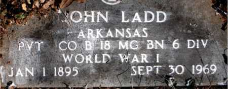 LADD  (VETERAN WWI), JOHN - Carroll County, Arkansas | JOHN LADD  (VETERAN WWI) - Arkansas Gravestone Photos