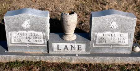 LANE, BONNETTA - Carroll County, Arkansas | BONNETTA LANE - Arkansas Gravestone Photos