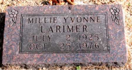 LARIMER, MILLIE YVONNE - Carroll County, Arkansas | MILLIE YVONNE LARIMER - Arkansas Gravestone Photos