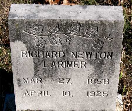 LARIMER, RICHARD NEWTON - Carroll County, Arkansas | RICHARD NEWTON LARIMER - Arkansas Gravestone Photos