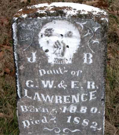 LAWRENCE, J. B. - Carroll County, Arkansas | J. B. LAWRENCE - Arkansas Gravestone Photos