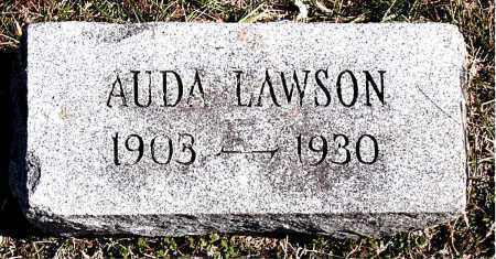 LAWSON, AUDA - Carroll County, Arkansas | AUDA LAWSON - Arkansas Gravestone Photos