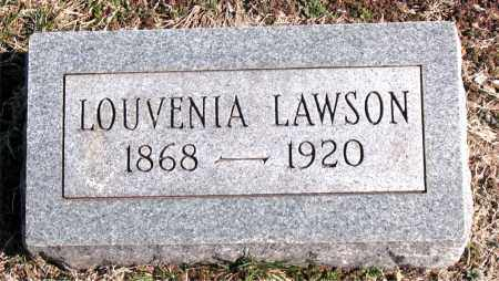 LAWSON, LOUVENIA - Carroll County, Arkansas | LOUVENIA LAWSON - Arkansas Gravestone Photos
