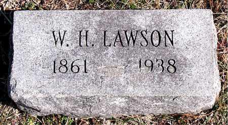 LAWSON, W  H - Carroll County, Arkansas | W  H LAWSON - Arkansas Gravestone Photos