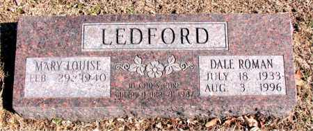 LEDFORD, DALE  ROMAN - Carroll County, Arkansas | DALE  ROMAN LEDFORD - Arkansas Gravestone Photos
