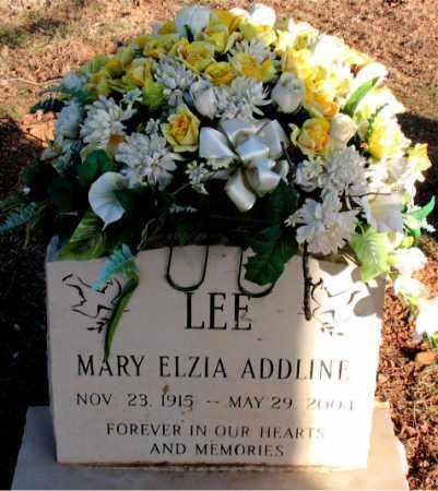 LEE, MARY ELZIA  ADDLINE - Carroll County, Arkansas | MARY ELZIA  ADDLINE LEE - Arkansas Gravestone Photos