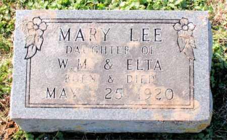 LEE, MARY - Carroll County, Arkansas | MARY LEE - Arkansas Gravestone Photos