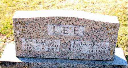 LEE, WILLIAM  MARION - Carroll County, Arkansas | WILLIAM  MARION LEE - Arkansas Gravestone Photos