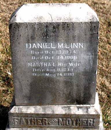 LINN, DANIEL M. - Carroll County, Arkansas | DANIEL M. LINN - Arkansas Gravestone Photos