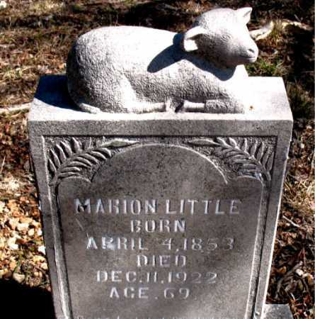 LITTLE, MARION - Carroll County, Arkansas | MARION LITTLE - Arkansas Gravestone Photos