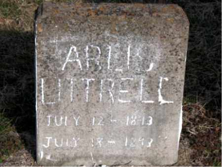 LITTRELL, ARLIS - Carroll County, Arkansas | ARLIS LITTRELL - Arkansas Gravestone Photos