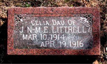 LITTRELL, CELIA - Carroll County, Arkansas | CELIA LITTRELL - Arkansas Gravestone Photos