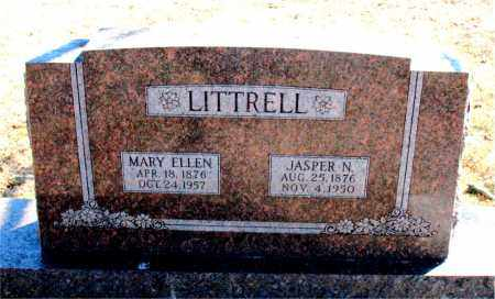 LITTRELL, MARY ELLEN - Carroll County, Arkansas | MARY ELLEN LITTRELL - Arkansas Gravestone Photos