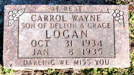 LOGAN, CARROL  WAYNE - Carroll County, Arkansas | CARROL  WAYNE LOGAN - Arkansas Gravestone Photos
