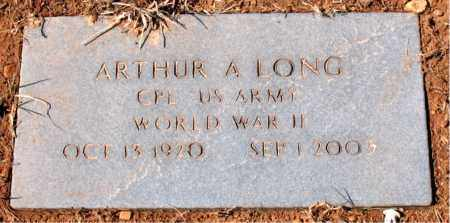 LONG (VETERAN WWII), ARTHUR A - Carroll County, Arkansas | ARTHUR A LONG (VETERAN WWII) - Arkansas Gravestone Photos