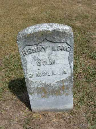 LONG  (VETERAN UNION), HENRY - Carroll County, Arkansas | HENRY LONG  (VETERAN UNION) - Arkansas Gravestone Photos