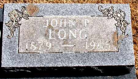 LONG, JOHN P. - Carroll County, Arkansas | JOHN P. LONG - Arkansas Gravestone Photos