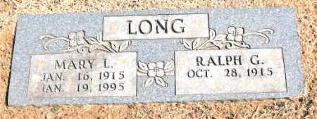 LONG, MARY L. - Carroll County, Arkansas | MARY L. LONG - Arkansas Gravestone Photos