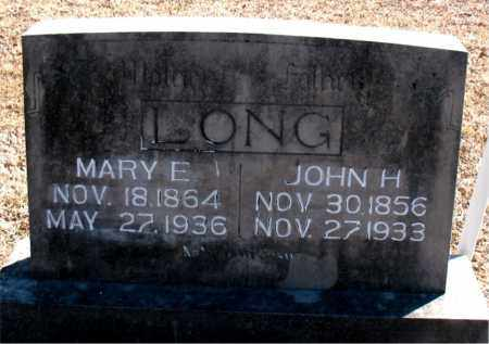 LONG, MARY E. - Carroll County, Arkansas | MARY E. LONG - Arkansas Gravestone Photos
