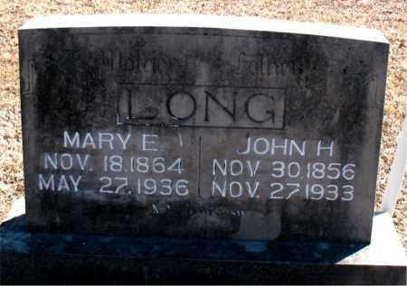 LONG, JOHN H. - Carroll County, Arkansas | JOHN H. LONG - Arkansas Gravestone Photos