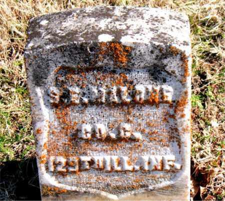 MALONE  (VETERAN UNION), S  E - Carroll County, Arkansas   S  E MALONE  (VETERAN UNION) - Arkansas Gravestone Photos