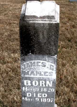 MAPLES, JAMES G. - Carroll County, Arkansas | JAMES G. MAPLES - Arkansas Gravestone Photos