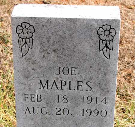 MAPLES, JOE - Carroll County, Arkansas | JOE MAPLES - Arkansas Gravestone Photos