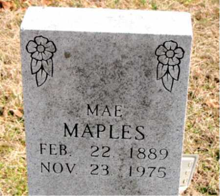 MAPLES, MAE - Carroll County, Arkansas | MAE MAPLES - Arkansas Gravestone Photos