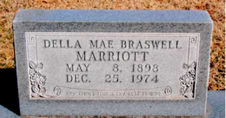 BRASWELL MARRIOTT, DELLA MAE - Carroll County, Arkansas | DELLA MAE BRASWELL MARRIOTT - Arkansas Gravestone Photos