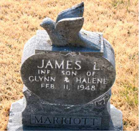 MARRIOTT, JAMES L. - Carroll County, Arkansas | JAMES L. MARRIOTT - Arkansas Gravestone Photos
