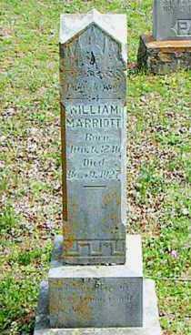 MARRIOTT, WILLIAM - Carroll County, Arkansas | WILLIAM MARRIOTT - Arkansas Gravestone Photos