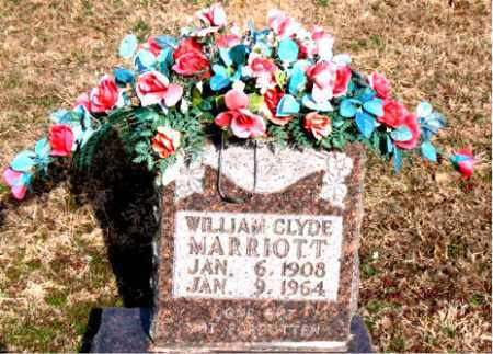 MARRIOTT, WILLIAM CLYDE - Carroll County, Arkansas | WILLIAM CLYDE MARRIOTT - Arkansas Gravestone Photos