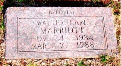 MARRIOTT, WALTER CARL - Carroll County, Arkansas | WALTER CARL MARRIOTT - Arkansas Gravestone Photos