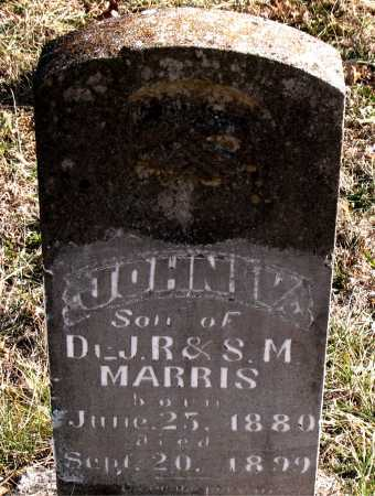 MARRIS, JOHN V. - Carroll County, Arkansas | JOHN V. MARRIS - Arkansas Gravestone Photos