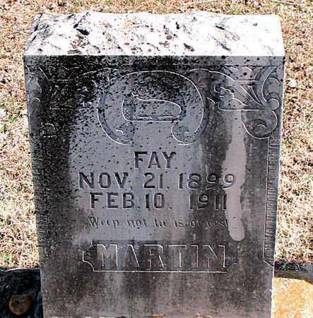 MARTIN, FAY - Carroll County, Arkansas | FAY MARTIN - Arkansas Gravestone Photos